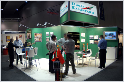 DubaiExporters at International Trade Exhibition