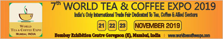7th WORLD TEA & COFFEE EXPO 2019